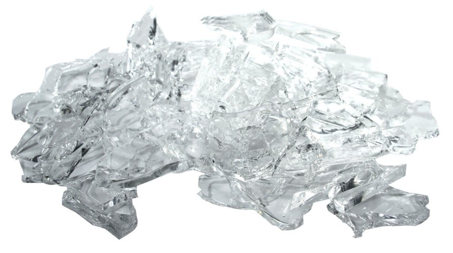 new rule fx rubber glass fake broken pieces sharp shards