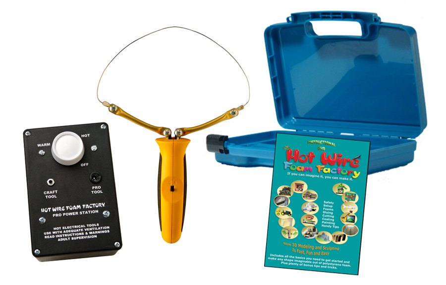 Hot Wire Foam Factory Pro Model Starter Kit with Router and Variable ...