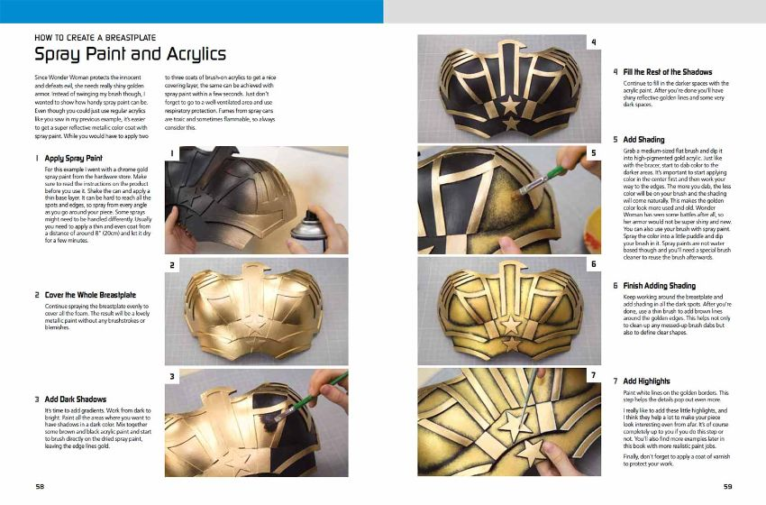 Kamui Cosplay The Costume Making Guide - Creating Armor ...