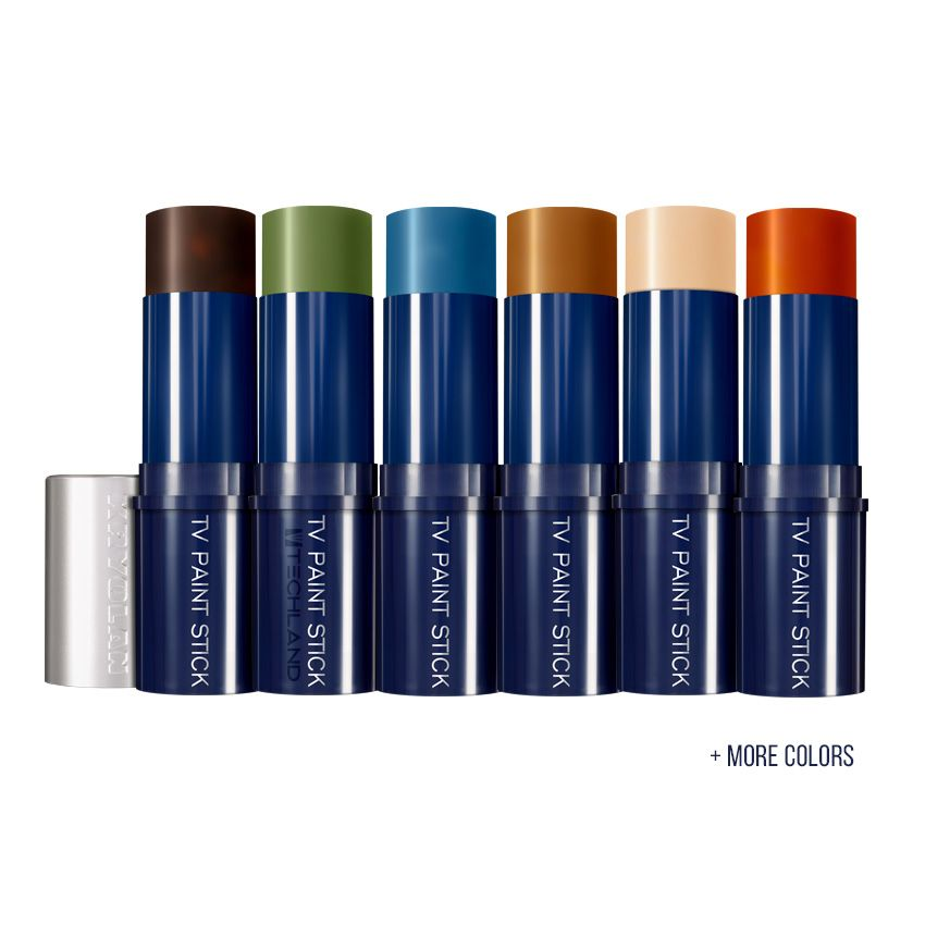 Kryolan Tv Paint Stick Colors