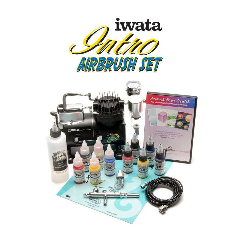 Iwata Intro Airbrush Set Airbrushing
