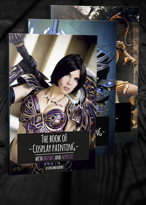 Kamui Cosplay armor props books