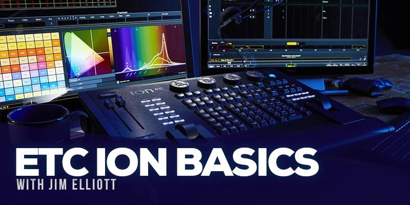 ETC Ion Basics Event Details | TechlandU by Techland Houston